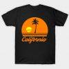 California sunset T Shirt