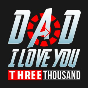 Dad I Love You Three Thousand Hoodie