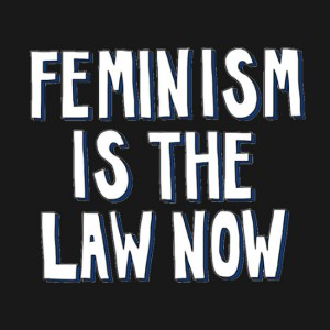 Feminism is the Law Now Hoodie
