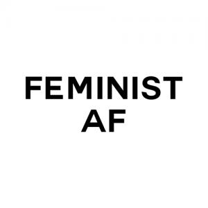 Feminist AF Tank top