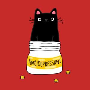 Fur antidepressant Hoodie