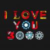 I Love You 3000 Hoodie