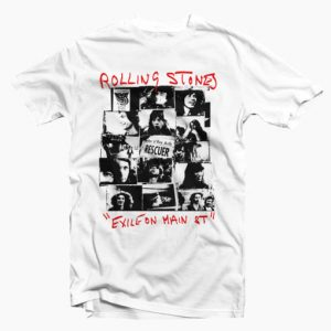 Rolling Stones Exile On Main Street T Shirt