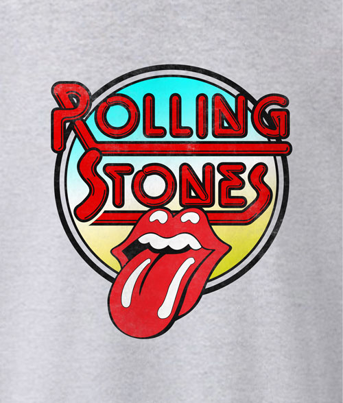 Rolling Stones Retro Tongue T Shirt
