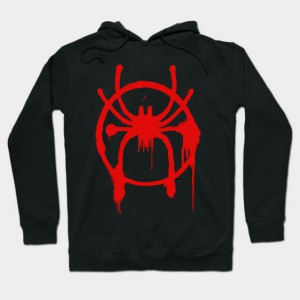 Spider-Man - Into The Spider-Verse - Spray paint logo Hoodie