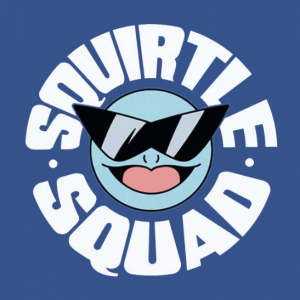 Squirtle Squad Tank top