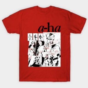 A-Ha Take On Me 80s 1980s Pop Band Retro Vintage T Shirt