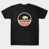 Yellowstone Park Badge T Shirt