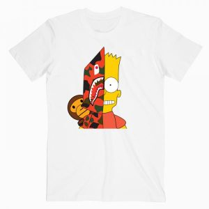 Bart Simpson Parody T Shirt