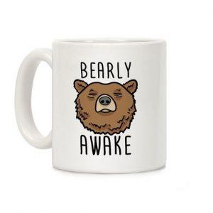 Bearly Awake Ceramic Mug
