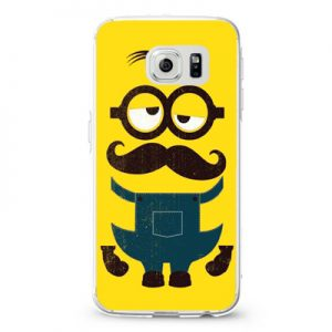 Despicable Me Minion Yellow Mustache Design Cases iPhone, iPod, Samsung Galaxy