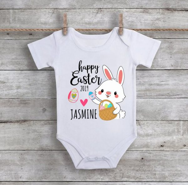 Happy Easter Baby Onesie