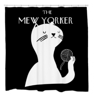 Mew Yorker Shower Curtain