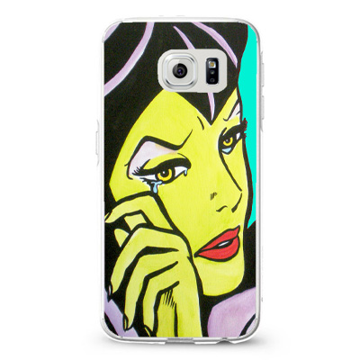 Villains maleficent comic blue sk_4 Design Cases iPhone, iPod, Samsung Galaxy