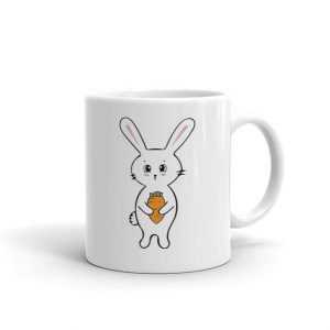 love Bunnies or Rabbits Ceramic Mug