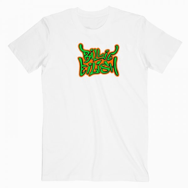 Billie Eilish Graffiti T Shirt
