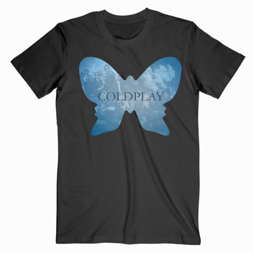 Coldplay Butterfly Music T Shirt