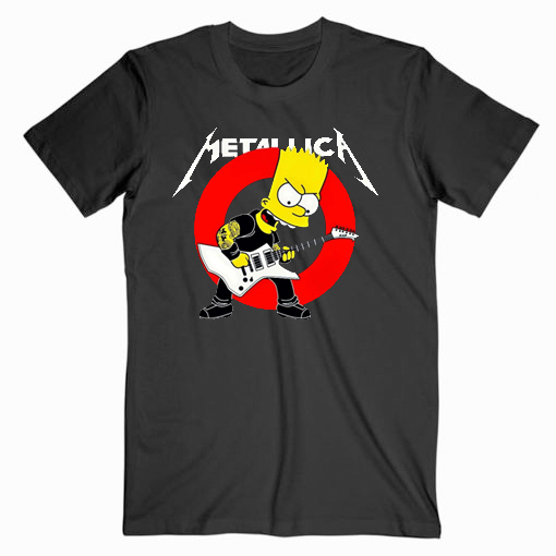 Metallica The simpsons Music T Shirt