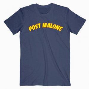 Post Malone Thrasher Flame Music T Shirt