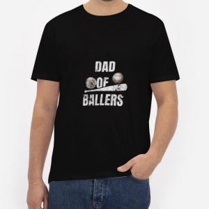Dad-of-Ballers-T-Shirt-For-Women-And-Men-Size-S-3XL