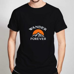 Wander-Forever-T-Shirt-For-Women-And-Men-Size-S-3XL