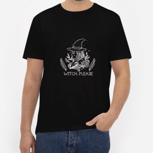 Witch-Please-T-Shirt-For-Women-And-Men-Size-S-3XL