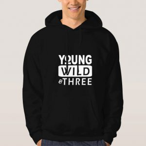 Young-Wild-Three-Hoodie-Unisex-Adult-Size-S-3XL