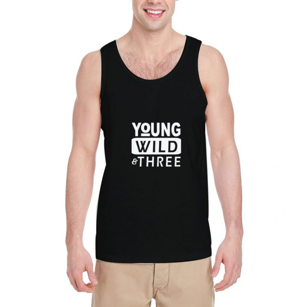 Young-Wild-Three-Tank-Top-For-Women-And-Men-Size-S-3XL