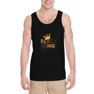 Black-King-Tank-Top-For-Women-And-Men-Size-S-3XL