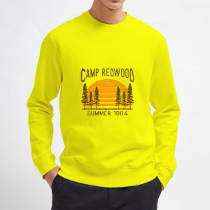 Camp-Redwood-Summer-1984-Sweatshirt-Unisex-Adult-Size-S-3XL