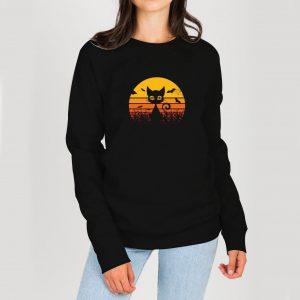 Cat-Halloween-Sweatshirt