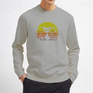 Cat-Halloween-Sweatshirt-Gray