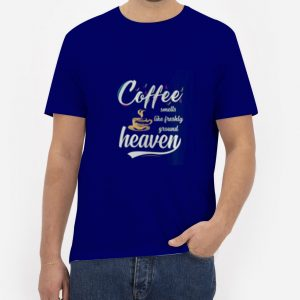Coffee-Heaven-T-Shirt-For-Women-And-Men-Size-S-3XL